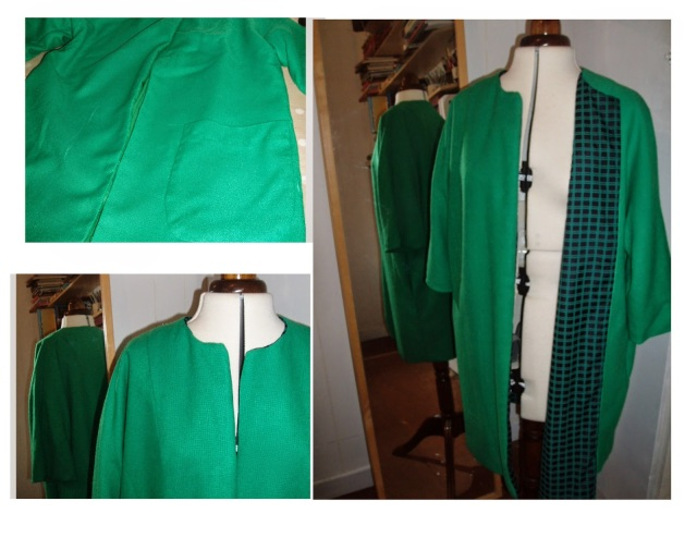 butterick 2704 upcycle cloak to coat