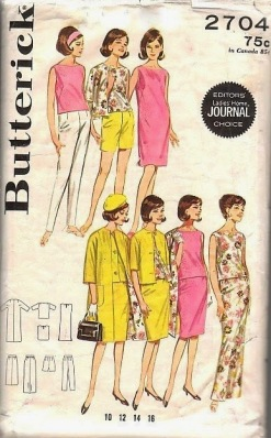 butterick 2704 upcycle pillowcase to blouse
