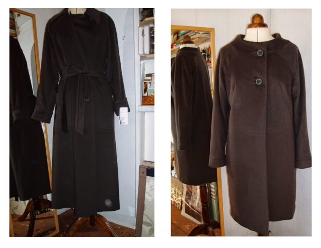 butterick 3652 remake upstyle refashion coat