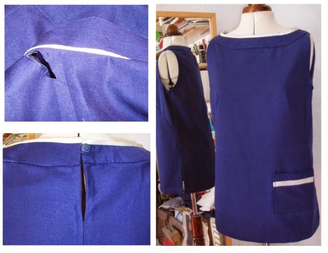 simplicity 1364 dress to tunic