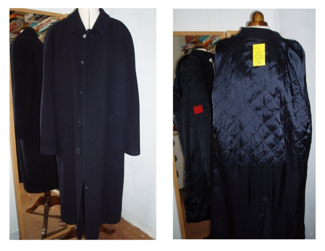 remake a coat upcycle a coat