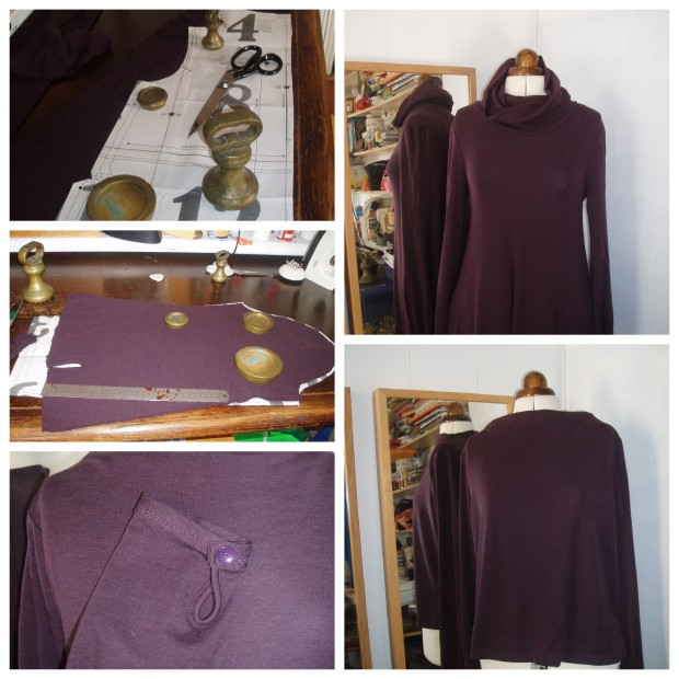 purple-toast - sweater upcycle