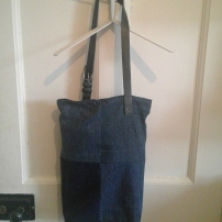 denim bag finish