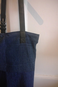 Denim bag strap
