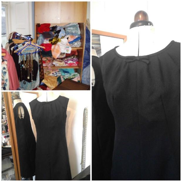 simonetta black dress