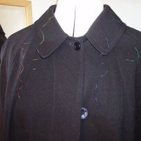 danco coat with colour threads