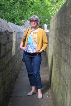 York - Cigarette Pants Butterick Top (2)