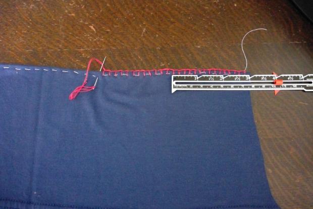 2. Blanket Stitch