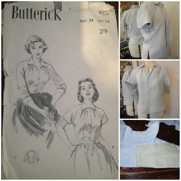 butterick shirt upcycle