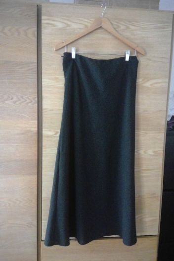 dress - before skirt