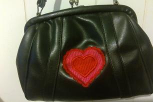 bling bag front
