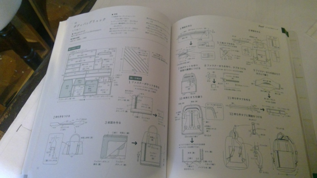 japanese bag book
